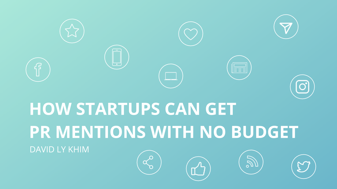 How Startups Can Get PR Mentions and Backlinks with No Budget