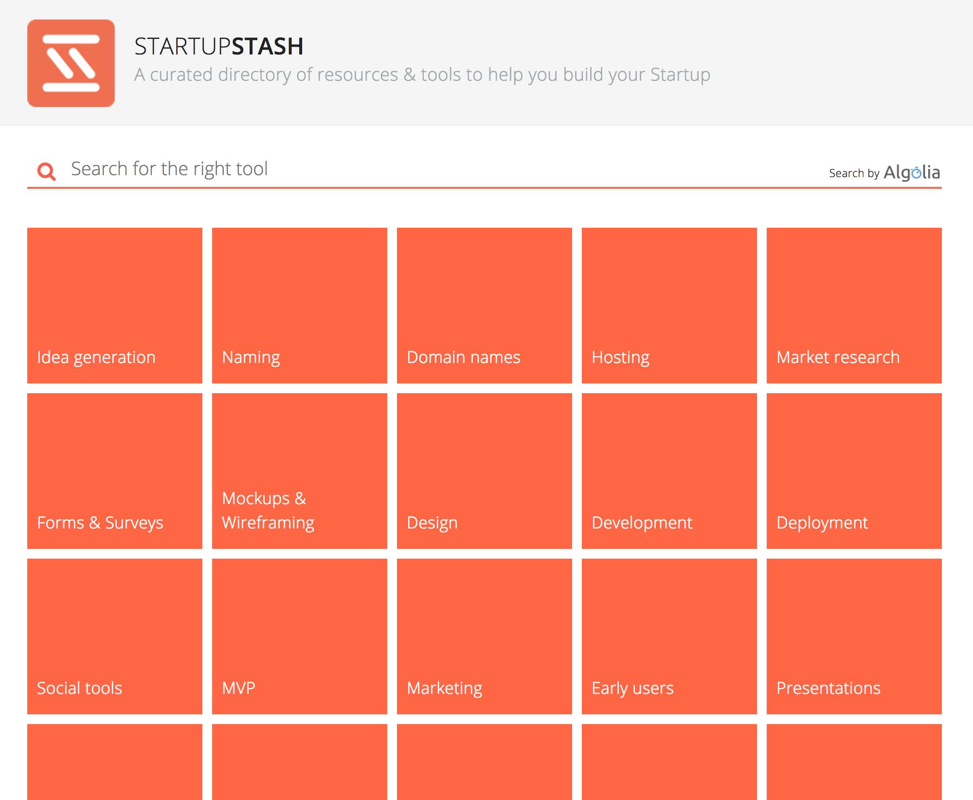 StartupStash
